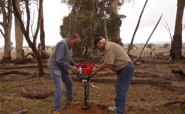 Bullmax Two Man Earth Auger