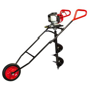 1man-wheeled-earth-auger-honda