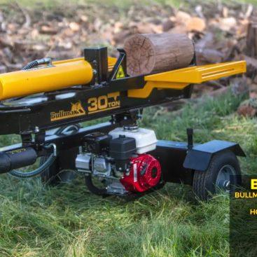 Bullmax 30 Ton Log Splitter- Horizontal Operation