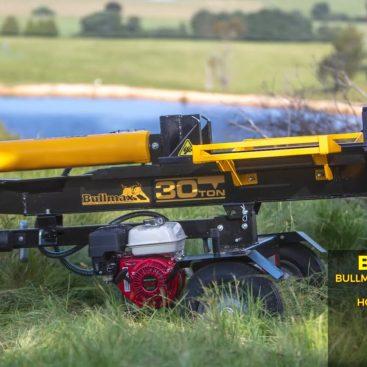 Bullmax 30 Ton Log Splitter - Horizontal & Vertical Operation