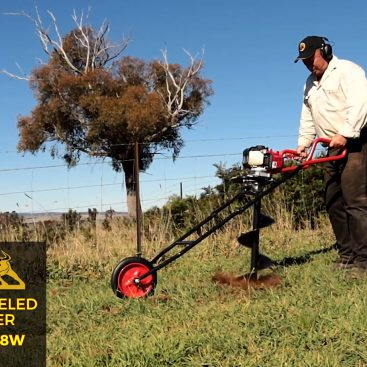 Wheeled Earth Auger